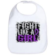 Licensed Fight Like a Girl 31.8 Lupus Bib
