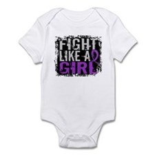 Licensed Fight Like a Girl 31.8 Lu Infant Bodysuit