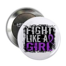 "Licensed Fight Like a Girl 31.8 Lupus 2.25"" Button"