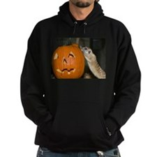 Meerkat On Pumpkin Hoodie (dark)