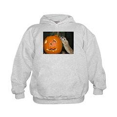 Meerkat On Pumpkin Hoodie