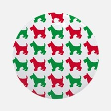 Scottish Terrier Christmas or Holiday Silhouettes