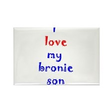 Bronie Son Rectangle Magnet