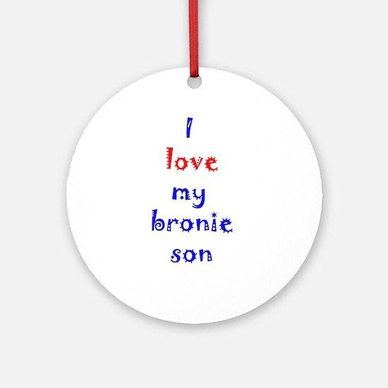 Bronie Son Ornament (Round)