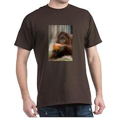 Orangutan Eating Pumpkin T-Shirt