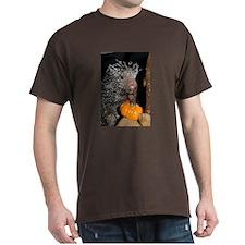 Porcupine Holding Mini Pumpkin T-Shirt