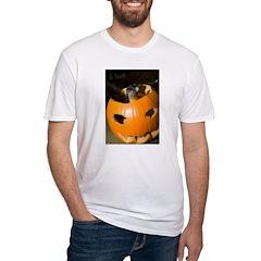 Squirrel in Pumpkin Shirt