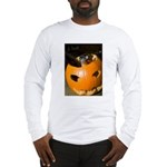 Squirrel in Pumpkin Long Sleeve T-Shirt