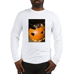 Squirrel in Pumpkin Long Sleeve T-Shirt