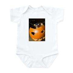 Squirrel in Pumpkin Infant Bodysuit