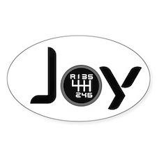 Joy-6sp Black (Clear Pattern, RUL) Decal