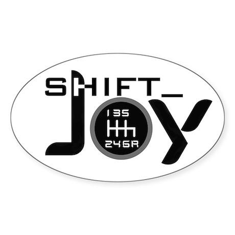 Joy-6sp Black (Clear Pattern) with Shift_ Sticker