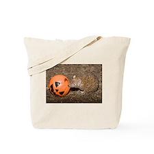 Lesser Tenrec with Pumpkin Tote Bag