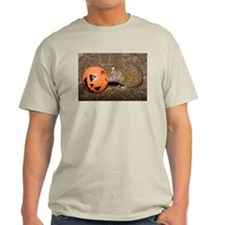 Lesser Tenrec with Pumpkin Light T-Shirt