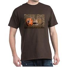 Lesser Tenrec with Pumpkin Dark T-Shirt