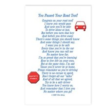 You Passed Road Test Postcards (Package of 8)