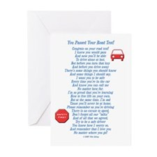 You Passed Road Test Greeting Cards (Pk of 20)