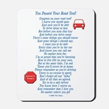 You Passed Road Test Mousepad