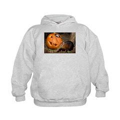 Elephant Shrew With Pumpkin Hoodie