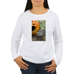 Otter With Pumpkin T-Shirt