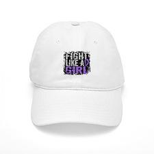 Licensed Fight Like a Girl 31.8 H Lymphoma Baseball Cap