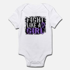 Licensed Fight Like a Girl 31.8 H Infant Bodysuit
