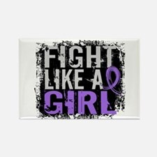 Licensed Fight Like a Girl 31.8 H Rectangle Magnet
