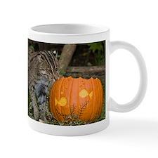 Ocelot With Pumpkin Mug