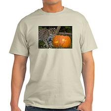 Ocelot With Pumpkin Light T-Shirt