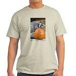 Lemur With Pumpkin Light T-Shirt