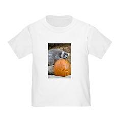 Lemur With Pumpkin T