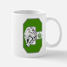 White Rhino Cannabis Mug