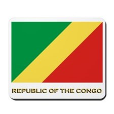 The Republic Of The Congo Flag Gear Mousepad