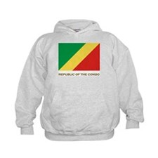The Republic Of The Congo Flag Gear Hoodie