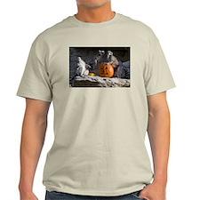 Lemurs With Pumpkin Light T-Shirt