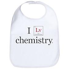 I Lv Chemistry Bib