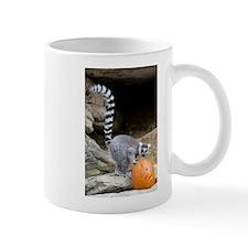 Lemur Pumpkin Mug