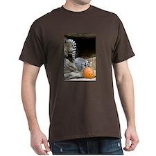 Lemur Pumpkin Dark T-Shirt