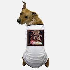 Cowboy Cat, pose 3 Dog T-Shirt