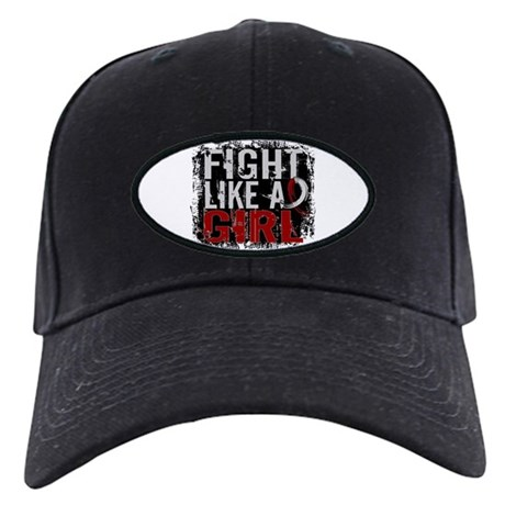 Licensed Fight Like a Girl 31.8 Head/Nec Black Cap