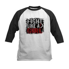 Fight Like a Girl 31.8 Head and Neck Cancer Tee