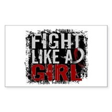 Fight Like a Girl 31.8 Head and Neck Cancer Sticke