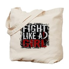 Licensed Fight Like a Girl 31.8 Head/Neck Tote Bag