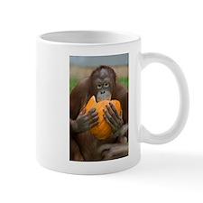 Orangutan with Pumpkin Mug