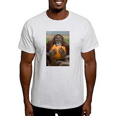 Orangutan with Pumpkin T-Shirt