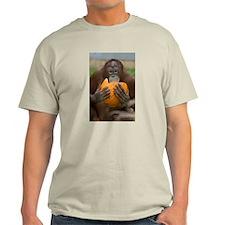 Orangutan with Pumpkin Light T-Shirt