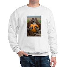 Orangutan with Pumpkin Sweatshirt