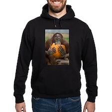 Orangutan with Pumpkin Hoodie (dark)