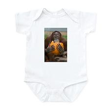 Orangutan with Pumpkin Infant Bodysuit