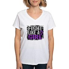 Fight Like a Girl 31.8 Fibromyalgia Shirt